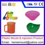 二重カラープラスチック食糧容器型