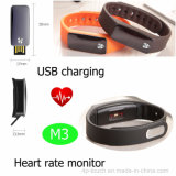 Fonction NFC Smart de recharge USB Bluetooth Bracelet M3