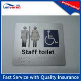 Beste Verkopende Fijne Zilveren Plastic Signages van Braille