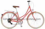 """2017 Bike/города 7speed сбор винограда Bike Holand Oma новой конструкции 28 """" ретро алюминиевый голландский"""