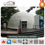Diamètre de 15 mètres demi-sphère dôme géodésique Prix tente