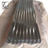 Толщина 0,75 мм гофрированный оцинкованного стального листа