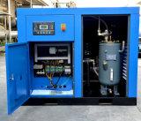 Tornillo de Compresor con el mecanismo impulsor directo del extremo y del motor del aire
