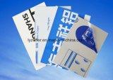 ロゴの印刷を用いるアルミニウム放出のための15-150micron PEの保護フィルム