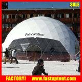 le diamètre de 6m galvanisent la tente en acier de salon d'usager de dôme géodésique