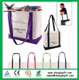 Procéder de Shopping personnalisé promotionnel recycler chiffon Calico fourre-tout sac de toile de coton