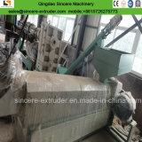 Linha de granulagem plástica da máquina da peletização da película do PE dos PP com compressor
