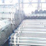 Pipa redonda del andamio de la pipa de acero del tubo 30mm/Weld del carbón