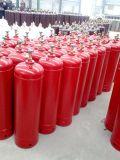 cilindros de gás de 40L C2h2 embalados em páletes