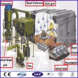 中国のクリーニング機械サンドブラスト部屋