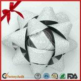 Funkeln-Stern-Farbband-Bogen des Packens für Weihnachtsdekoration