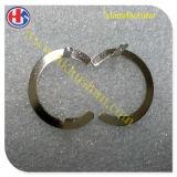 Ring-Sicherungsring mit der Nickelplattierung überprüfen, die verwendet wird für gedruckte Schaltkarte (HS-DQ-01)