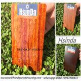 Revestimento de madeira do pó do efeito da decoração Home padrão de RoHS da alta qualidade
