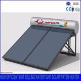 Chauffe-eau solaire compact pressurisé de plaque plate/de panneau