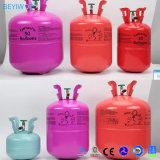 El tanque disponible de mano del globo del helio para el globo inflable del partido de la hoja