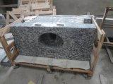 Comptoir en pierre granite blanche à pulvériser pour cuisine