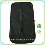 Sacchetti di indumento non tessuti pieghevoli personalizzati della prova della polvere del coperchio del vestito