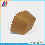 Custom imprimé papier kraft brun Hamburger Box