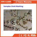 tagliatrice d'acciaio del laser della fibra della taglierina del laser dell'oro di 1mm mini/metallo di alta precisione 1000W/mini taglierina laser dell'oro