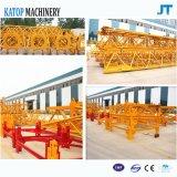 De maximum 8t Machines van de Bouw van de Kraan van de Toren van de Lengte van de Lading en van de Boom van 60m