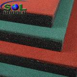 Переработанных SBR безопасности игровая площадка резиновый пол плитки