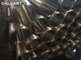 Dubbelwerkende Telescopische Cilinder met de Zuigerstang van het Staal