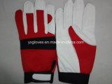 Het handschoen-Werk van het leer handschoen-Industriële handschoen-Veiligheid handschoen-Katoenen handschoen-Handschoen