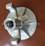 Durchmesser-130mm geschmiedete Flügel-Mutteren-geschmiedete Annietmutter und Platten-Mutter für Verschalung-Kombination
