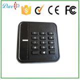 Lecteur de carte RFID Wiegand 26 imperméable à l'eau de 13,56 MHz pour système de contrôle d'accès à la porte de sécurité