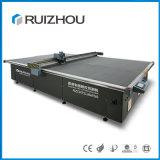 Máquina de corte de faca de volta para o vestuário tecido fresa CNC têxteis