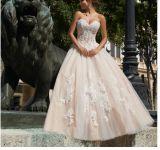 2014 A - riga vestiti da sera del partito di promenade del merletto Pd1734