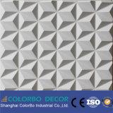 Panneau de mur en bois de panneaux décoratifs de mur intérieur de bureau 3D
