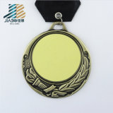 무료 샘플 금속 기술 커트 금 흑인지대 공수 메달