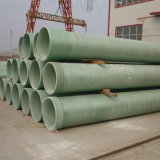 Tubulação de água da água de esgoto do encanamento GRP da água de esgoto da fabricação de papel de GRP FRP