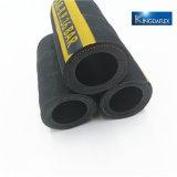 Tubo flessibile di gomma flessibile del Sandblast della pompa per calcestruzzo da 3 pollici