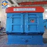 Máquina de chorro de arena de la correa de volteo para la limpieza de uso