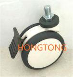 150/6 pulgadas silenciosa ajustable echador/rueda para cama de empalme de la rueda / accesorios de instrumentos