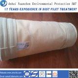 Nonwoven пробитый иглой мешок пылевого фильтра Nomex воды и масла фильтра Repellent для индустрии