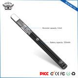 Van de knop B6 de Hoogste van de Luchtstroom 350mAh van het Glas 0.5ml Elektronische E Pen van de Rook