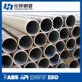 Tubos de acero inconsútil 168*9 para la transmisión del petróleo