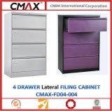 4 Fach-seitlicher Aktenschrank Cmax-Fd04-004