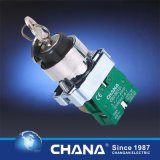 De elektro 22mm Schakelaar van de Drukknop met Waterdichte Dekking IP65