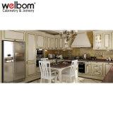 島との標準的なStyle Oak Wood Kitchen Cabinet