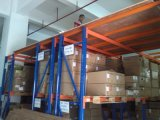 中国の製造者の倉庫ラックは記憶のための中二階をサポートした