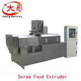 La macchina dello spuntino del cereale ha soffiato spuntino del cereale che fa il macchinario