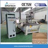 La puerta neumática máquina CNC Máquina de 3 ejes con CNC Cuttingtools