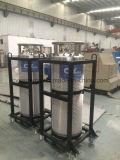Cilindro industriale approvato del Dewar dell'argon dell'azoto dell'ossigeno liquido del GOST