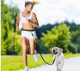 Mains libres Bungee réfléchissant l'exécution de la randonnée à pied de jogging de chien en laisse