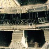chenille en caoutchouc de l'excavateur (400*72.5N*72) pour Komatsu machinerie de construction