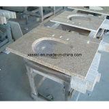 Eitelkeits-Oberseiten des Granit-G655 für Küche